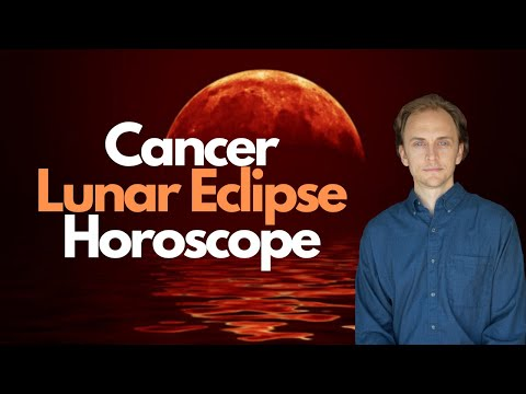 Full Moon Lunar Eclipse in Cancer Astrology Horoscope January 2020
