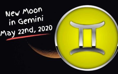 New Moon in Gemini, May 22nd, 2020